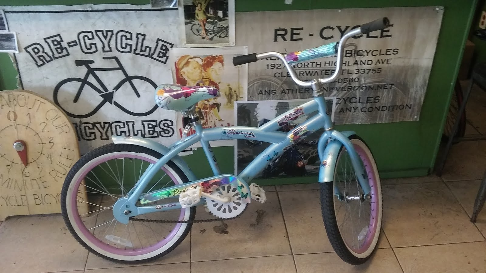 "20"" Girls Cruiser"