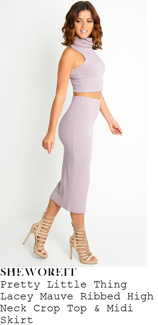 danielle-armstrong-lilac-ribbed-crop-top-and-midi-skirt-co-ords-very-summer-party