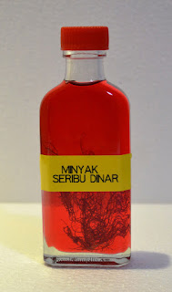 minyak merah , minyak seribu dinar