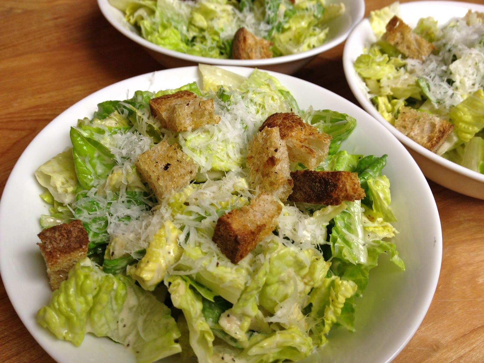 Foodie Journey: Caesar Salad