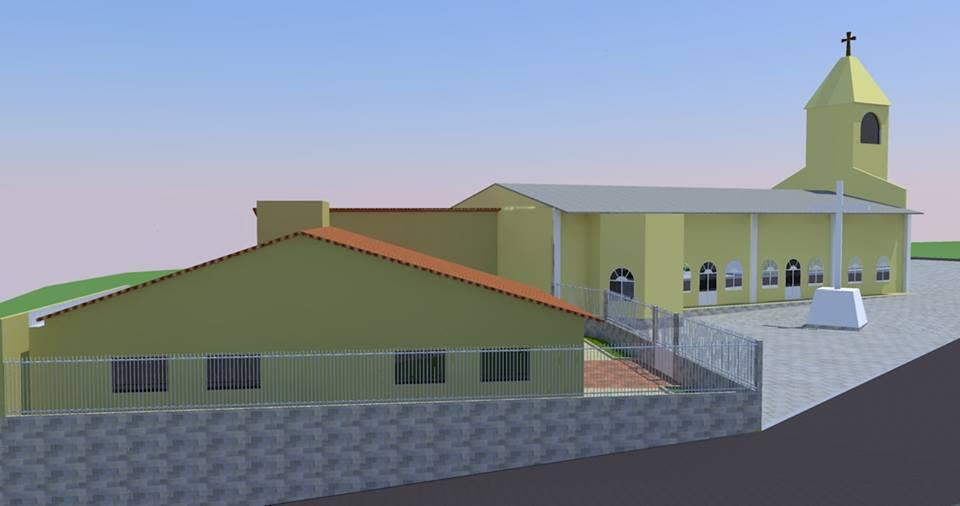Projeto do Centro Pastoral da Paróquia Nossa Senhora das Dores de Rajada