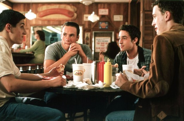 a review of the movie american pie Families can talk about how american pie 2 compares with the first movie is the sequel better or worse is the sequel better or worse families might also want to talk about how the film shows inexperienced boys' insecurity about sexual peformance driving their actions.