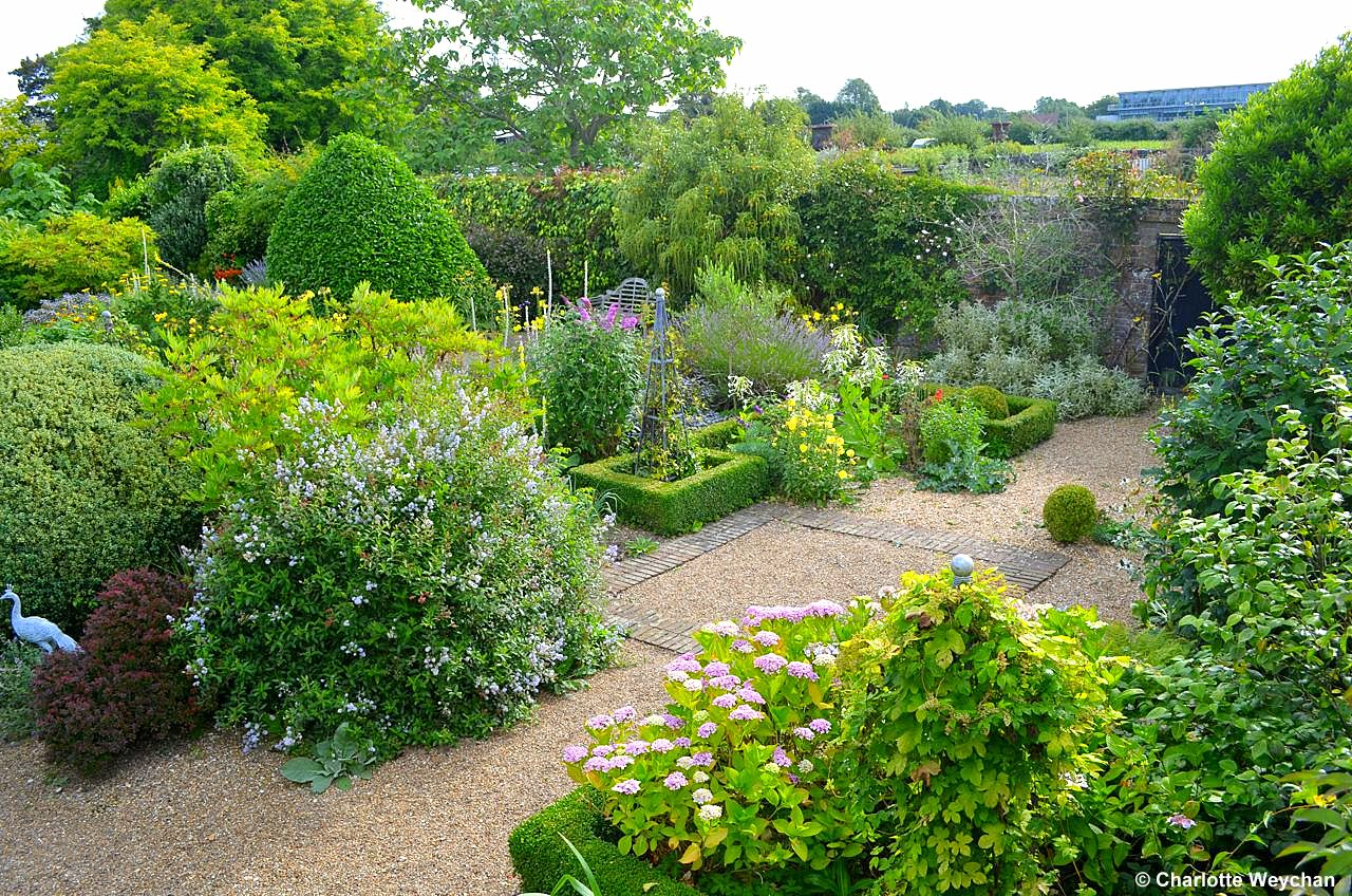august gardens up in the air with john brookes at denmans - Garden Design John Brookes