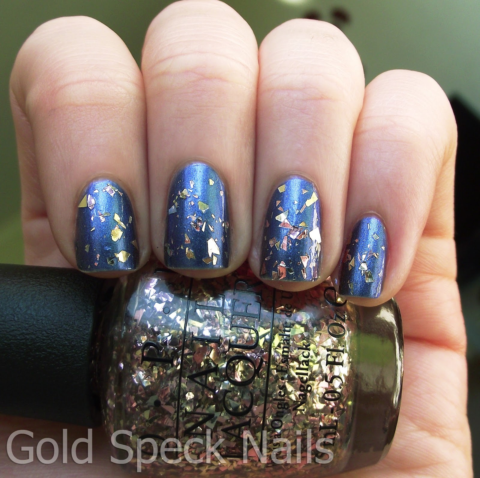 Opi Rose Gold Glitter Nail Polish