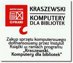 Dofinansowano ze środków Instytutu Książki