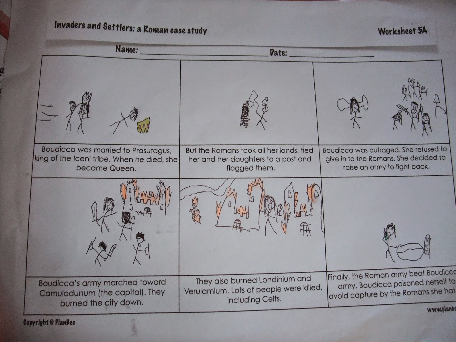 worksheet Boudicca Worksheet the accidental home educator in between lessons we have found time to play a game just bought called city of zombies which has had excellent reviews and won numerous awards