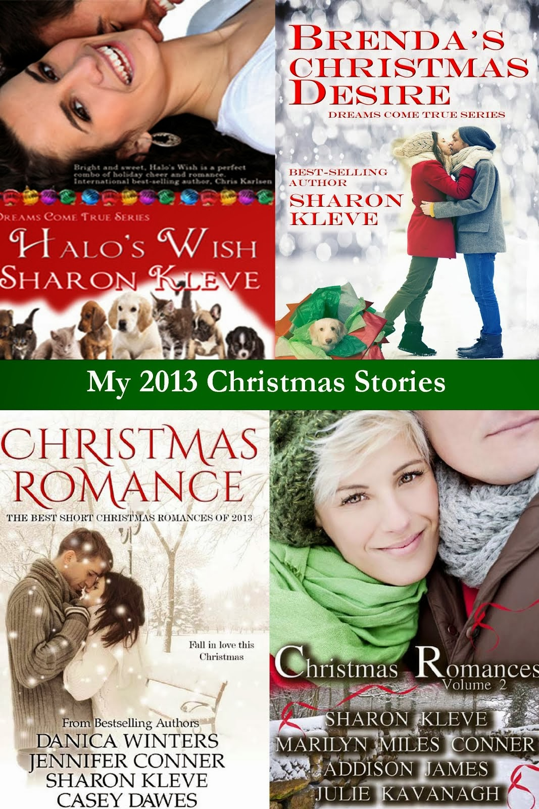 My 2013 Christmas Stories