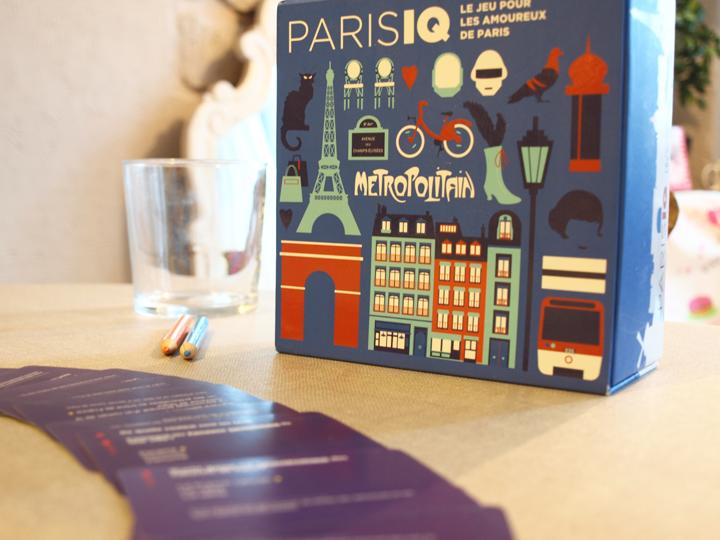 jeu de société Paris IQ