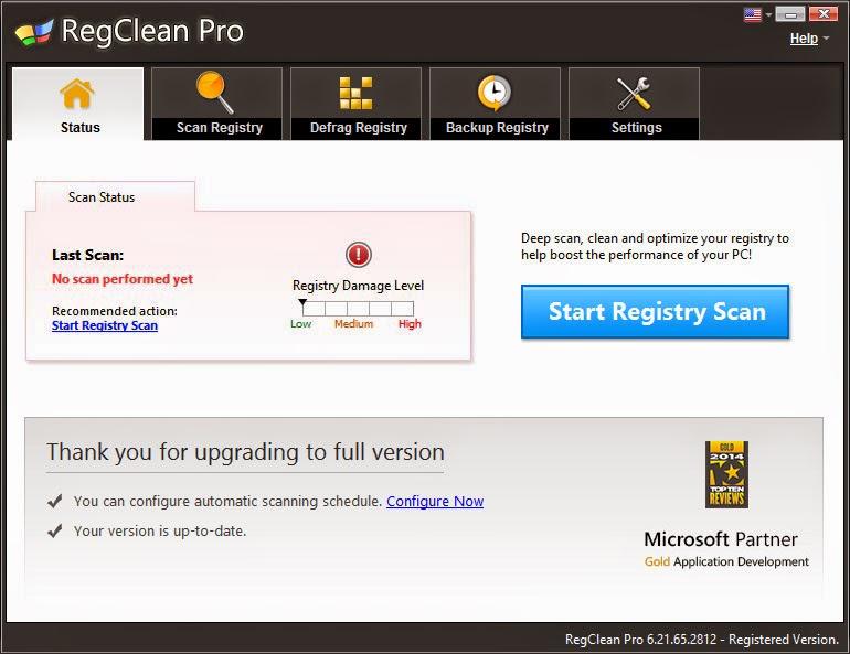 RegClean Pro v6.2
