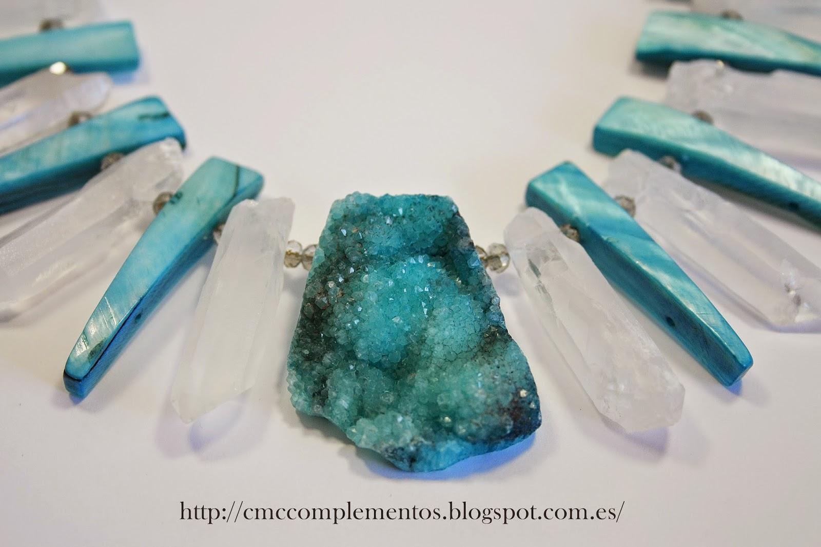 Cmc complementos collar tnico piedras naturales - Tipos de piedras naturales ...