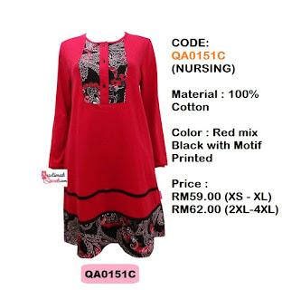 T-Shirt-Muslimah-Qaseh-QA0151C