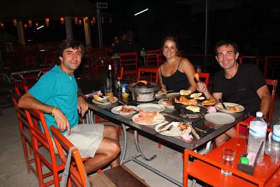 Cena en Koh Tao - Viaje a Tailandia