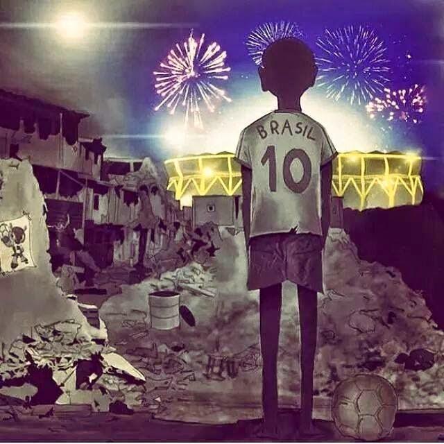 Lo que no se verá del Mundial Brasil 2014