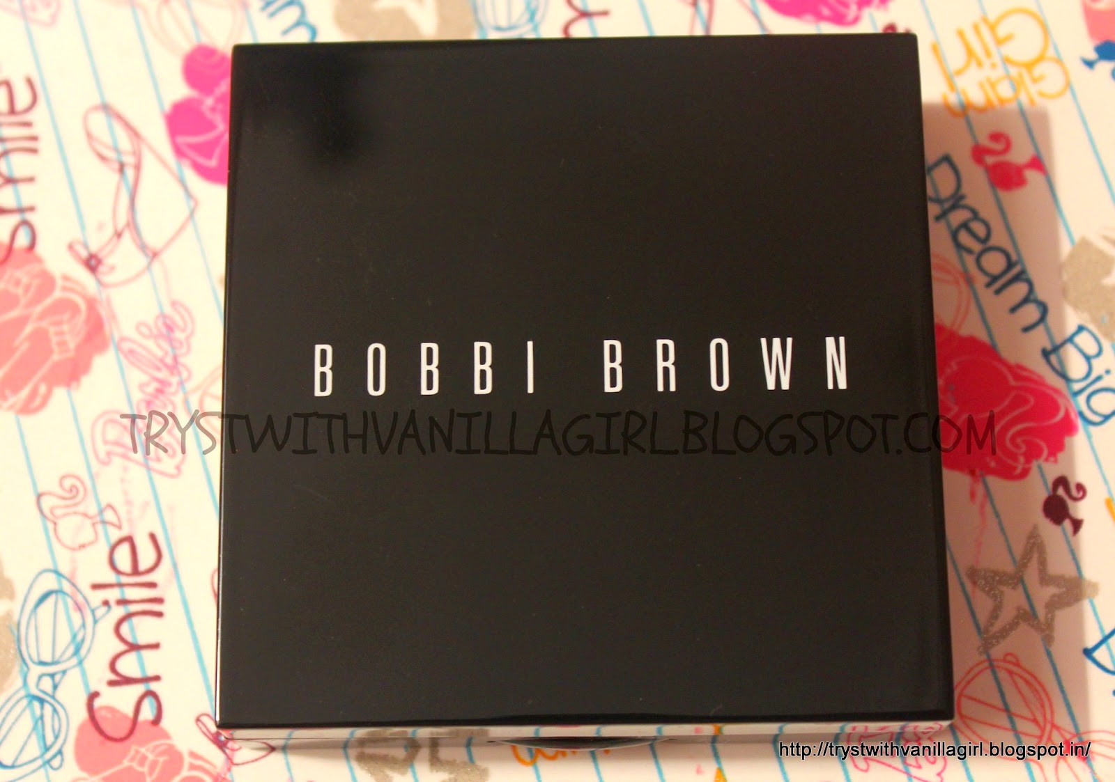 BOBBI BROWN SHIMMER BRICK COMPACT In ROSE
