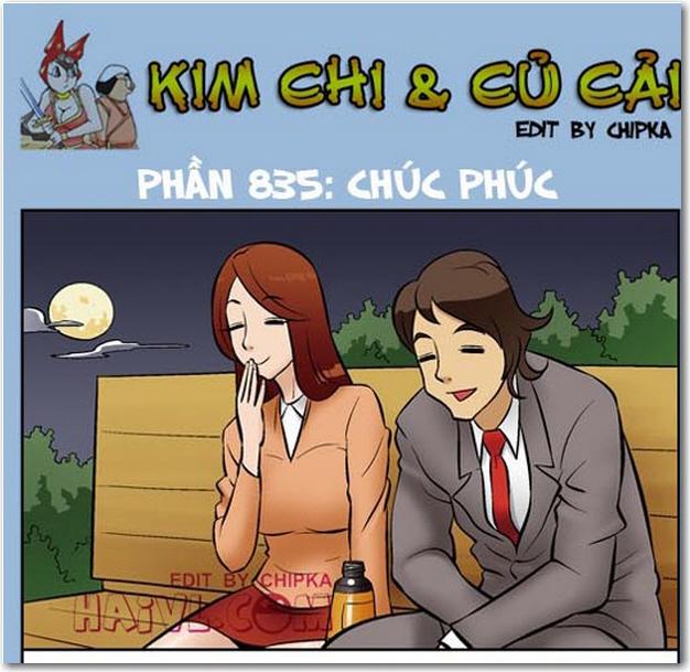 Kim Chi và Củ Cải phần 835 - Chúc Phúc. Đón xem trọ bộ truyện tranh Kim chi và củ cải tại thugian180