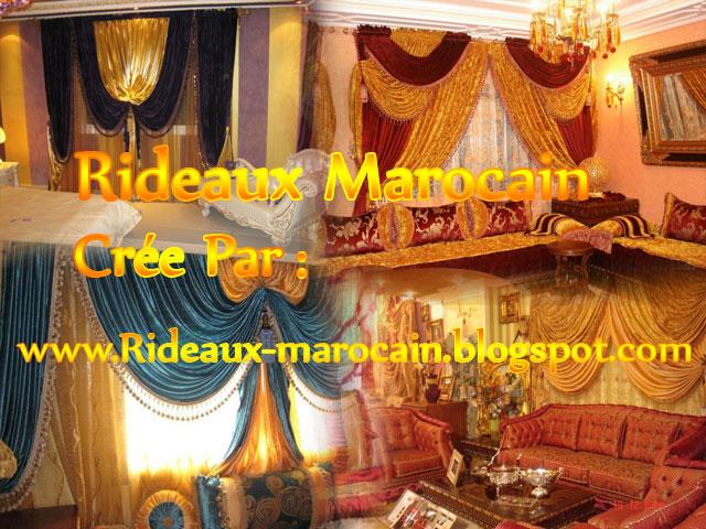 Rideaux marocain