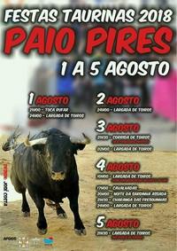 Paio Pires (Seixal)- Festas Taurinas 2018