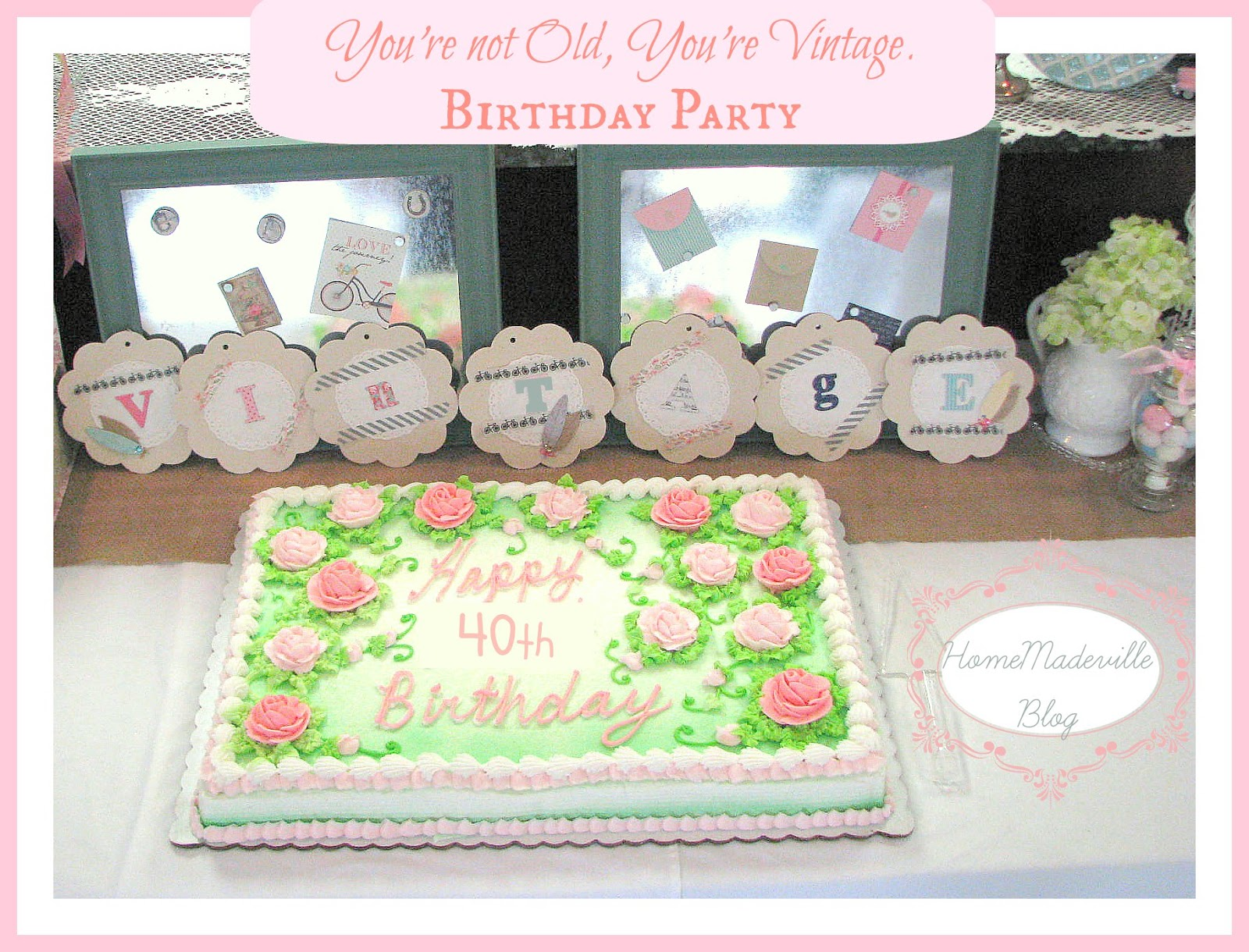 Homemadeville your place for homemade inspiration for Homemade birthday decorations for adults