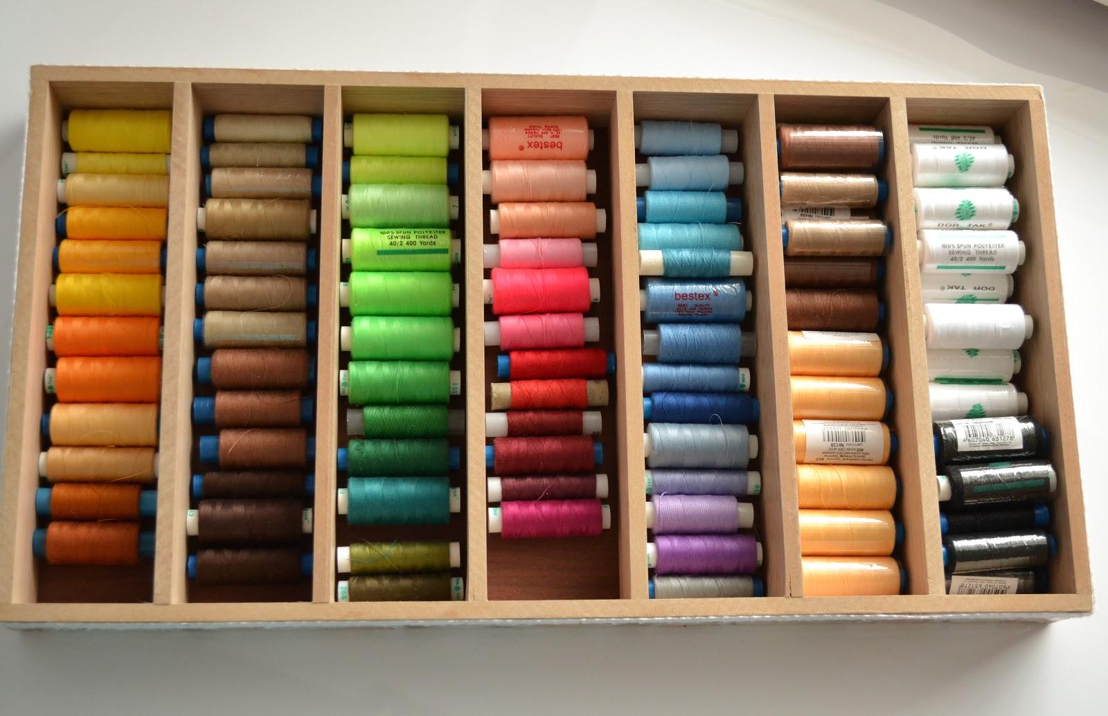 Коробочка для швейных ниток своими руками 18
