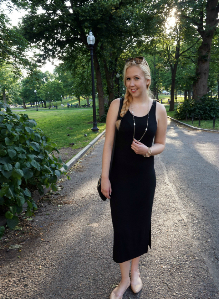 Boston, Boston Fashion Blog, Boston Fashion Blogger, Boston Beauty, Boston Beauty Blog, Boston Beauty Blogger, Outfits, Summer 2015, Summer Uniform, Midi Dress, How To Wear a Midi Skirt, How To Wear A Midi Dress, Boston Common