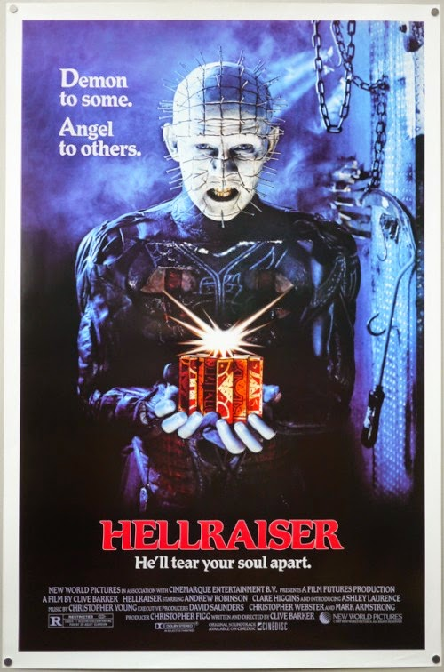 The World According to Quinn: Movie Review: Hellraiser (1987)