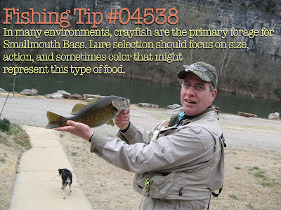 Smallmouth Bass fishing tip