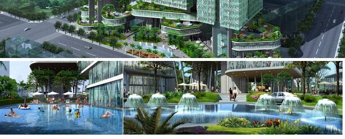 Phối cảnh Phú Mỹ Complex