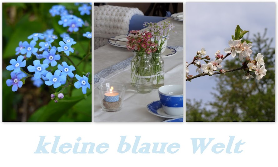 kleine blaue Welt