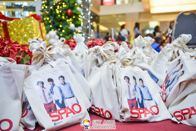 Goodies bag from SPAO Malaysia
