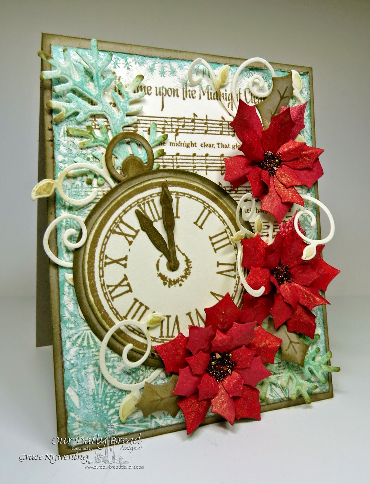 ODBD stamps Midnight Clear Background, God's Timing, designed by Grace Nywening