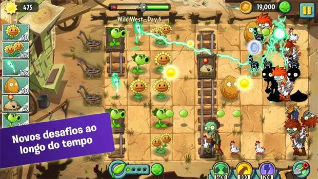 Plants vs. Zombies 2 chega para Android