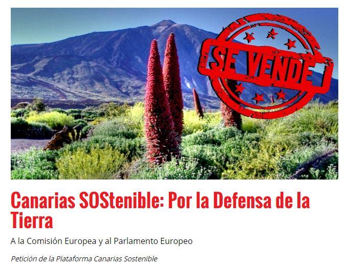Por una Canarias Sostenible