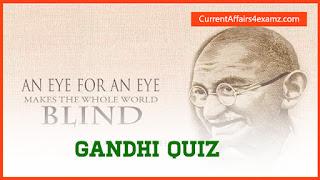 Gandhi Jayanti Quiz