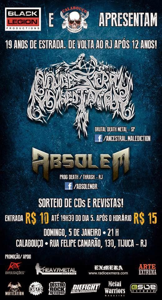 Ancestral Malediction no RJ !!!