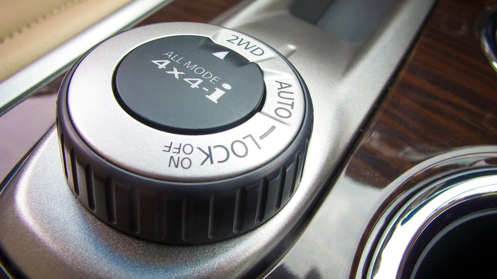 Nissan Pathfinder 4X4 System hd image