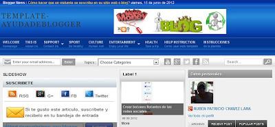 Plantillas para blogger gratis en español