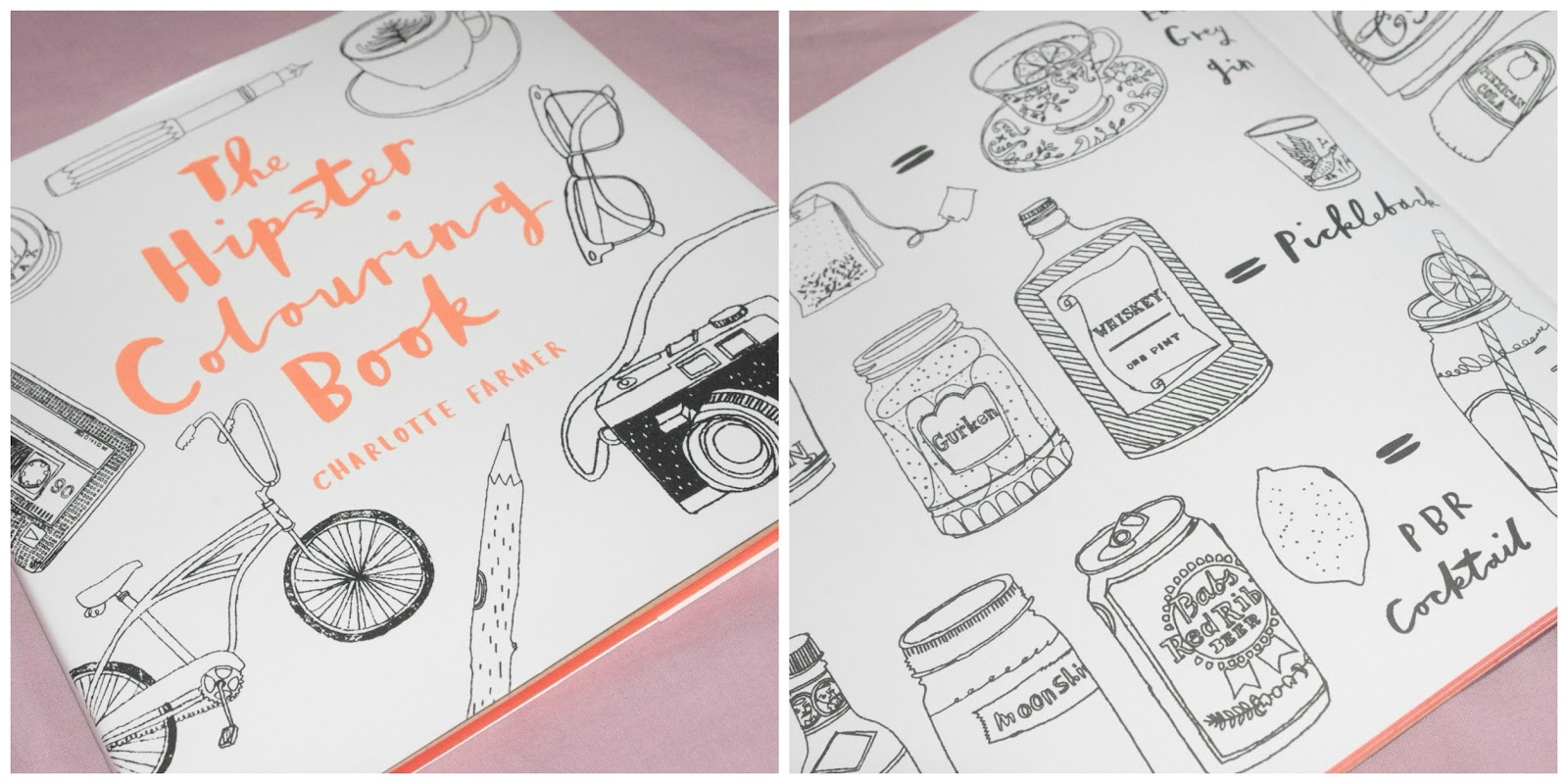 1 the hipster colouring book - Hipster Coloring Book