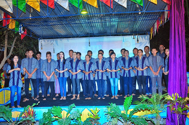 Ilham Guntara dan IPEGA Menyanyikan Lagu Indonesia Raya