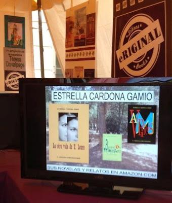 Mis tres eBooks Kindle en la Feria del libro de Mami por gentileza de Eriginal Books
