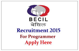 Broadcast Engineering Consultants India Ltd Recruitment 2015 for the post Programmer