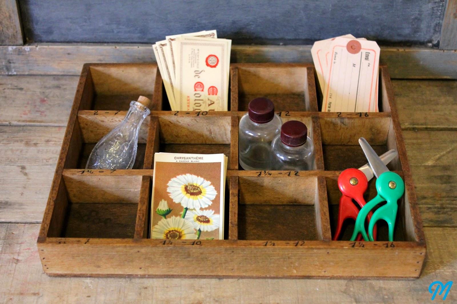 Marinette vintage blog - Petite caisse en bois ...