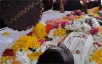 Navitanveli social servicer Madithayan's funeral