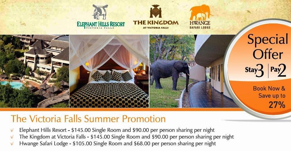 Victoria Falls promotion