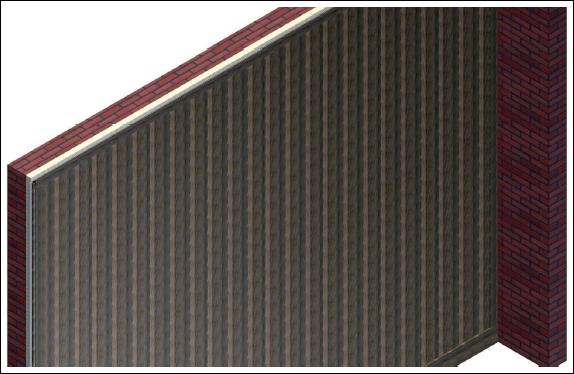 Acustika montaje de revestimiento en paredes con aislante for Revestimiento paredes adhesivo