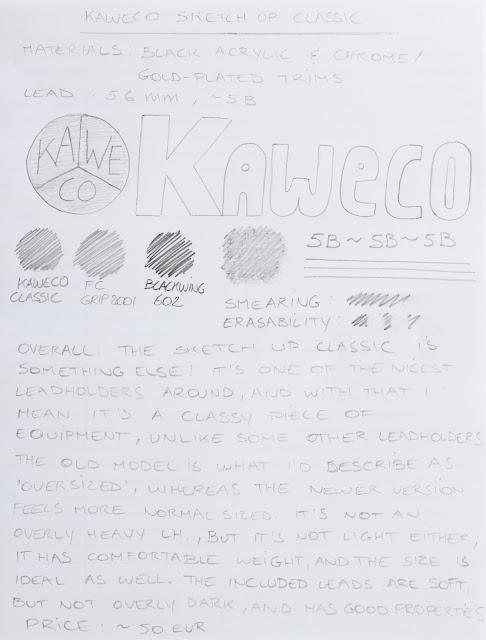 Kaweco Sketch-Up Classic Leadholders