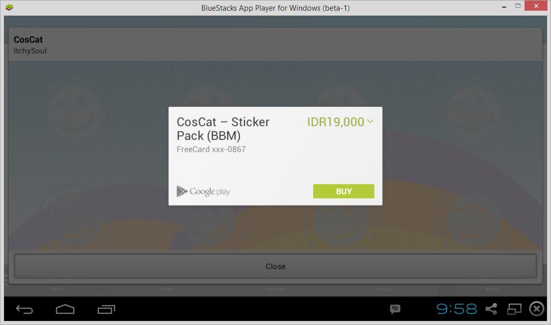 Cara Download Sticker Premium BBM Android Secara Gratis 4