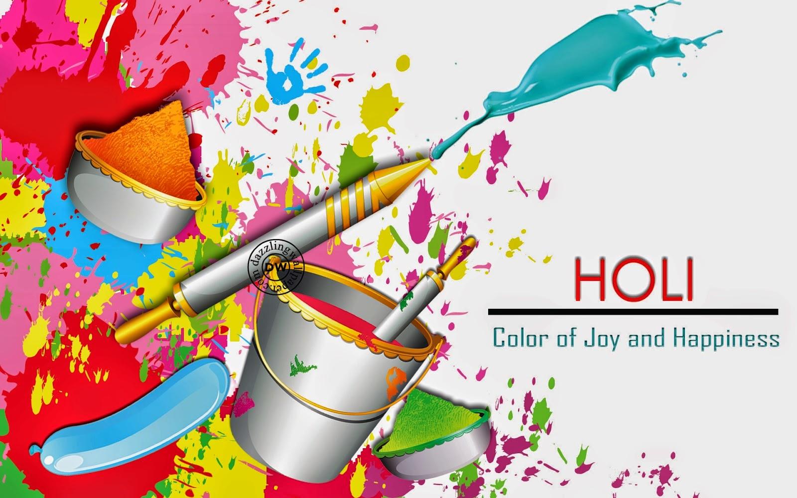 Happy Holi 2015 WhatsApp Video Wallpaper