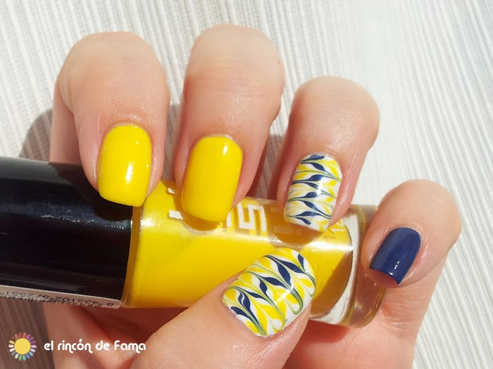 Marbling nails without water | el rincon de Fama