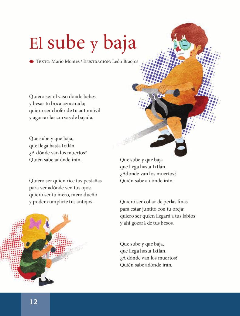 El sube y baja - Español Lecturas 6to 2014-2015