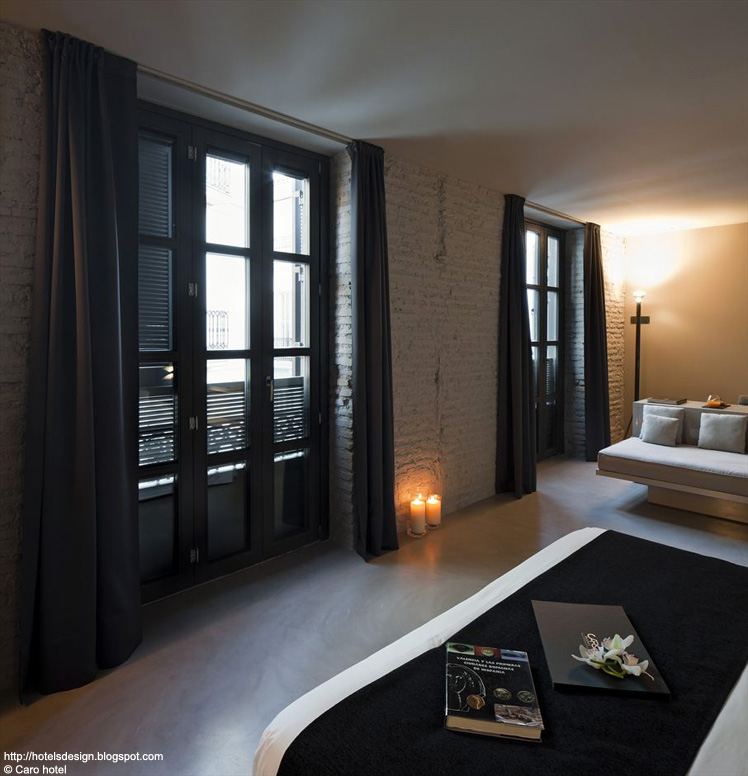 Les plus beaux hotels design du monde caro hotel by for Hotel design valence